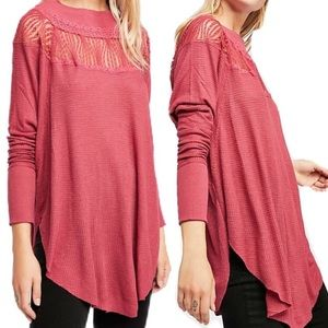 {FREE PEOPLE} WE THE FREE SPRING VALLEY LACE TUNIC
